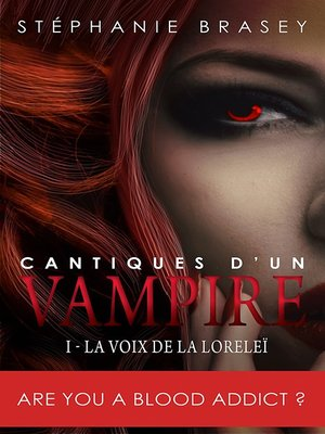 cover image of Cantiques d'un vampire