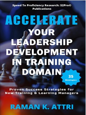 cover image of Accelerate Your Leadership Development in Training Domain