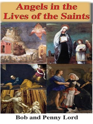 cover image of Angels in the Lives of the Saints