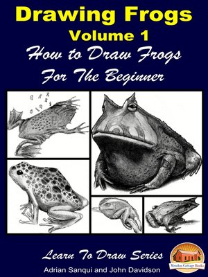 cover image of Drawing Frogs Volume 1