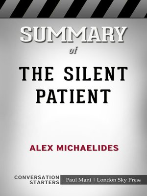 cover image of Summary of the Silent Patient by Alex Michaelides