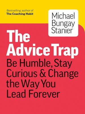 cover image of The Advice Trap