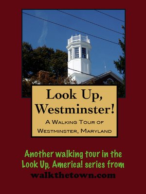 cover image of A Walking Tour of Westminster, Maryland