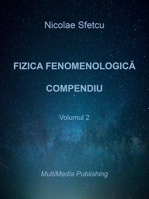 cover image of Fizica fenomenologică