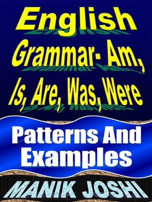cover image of English Grammar- Am, Is, Are, Was, Were