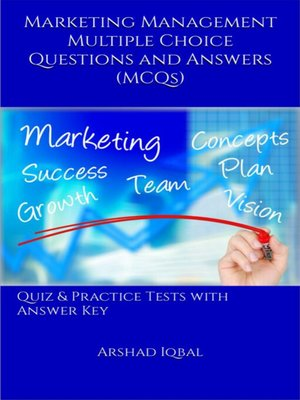 cover image of Marketing Management Multiple Choice Questions and Answers (MCQs)