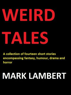 cover image of Weird Tales, no. 1