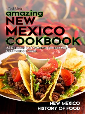 cover image of Amazing New Mexico Cookbook