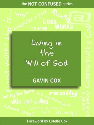 cover image of Living in the Will of God