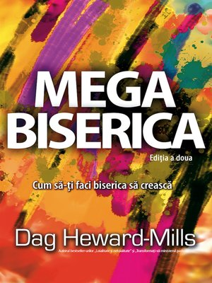 cover image of Mega biserica Ediția a doua