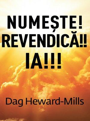 cover image of Numeşte! Revendică!! Ia!!!