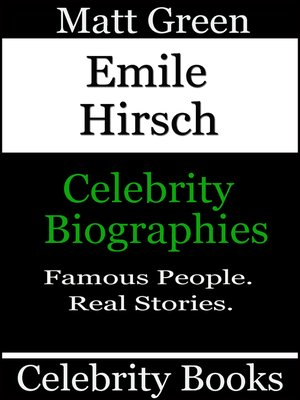 cover image of Emile Hirsch