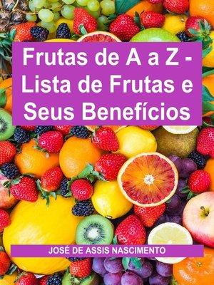 cover image of Frutas de a a Z