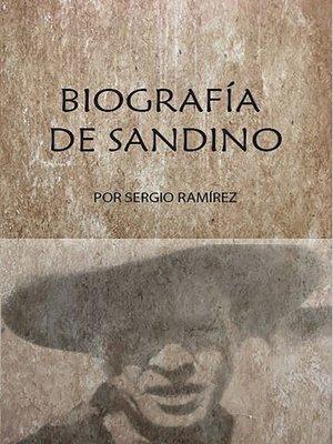 cover image of Biografía de Sandino
