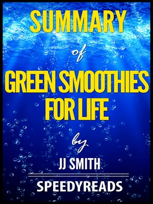 cover image of Summary of Green Smoothies for Life by JJ Smith