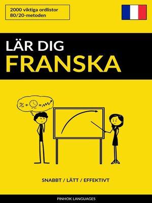 cover image of Lär dig Franska