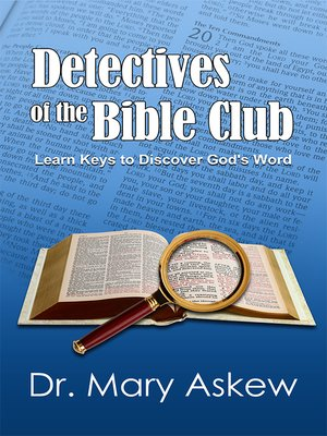 cover image of Detectives of the Bible Club