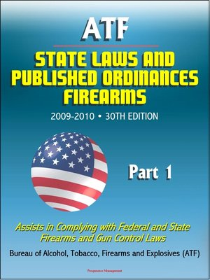cover image of ATF State Laws and Published Ordinances