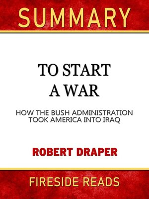 cover image of Summary of to Start a War