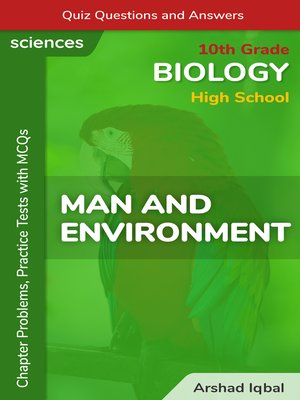 cover image of Man and Environment Multiple Choice Questions and Answers (MCQs)