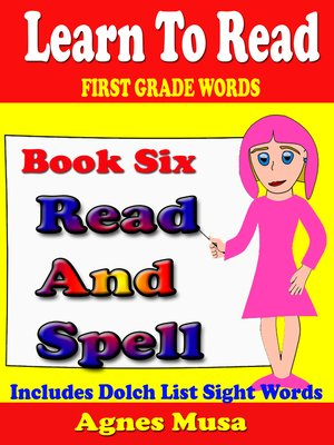 cover image of Book Six Read and Spell First Grade Words