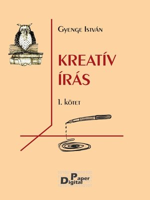 cover image of Kreatív írás