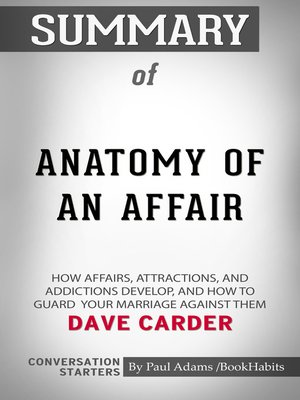cover image of Summary of Anatomy of an Affair