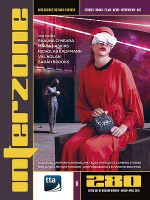 cover image of Interzone #280 (March-April 2019)