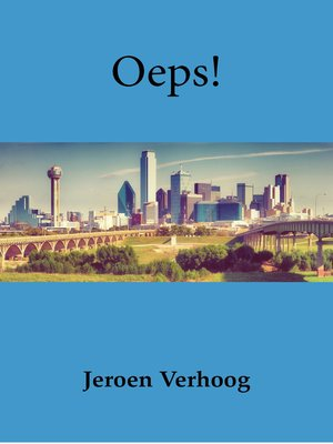 cover image of Oeps!