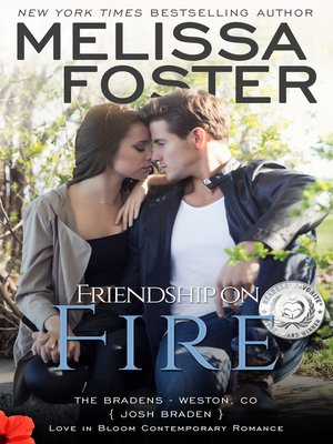 cover image of Friendship on Fire (The Bradens, Book Three)