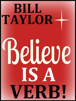 cover image of Believe Is a Verb!