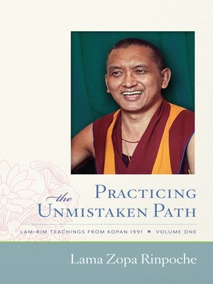 cover image of Practicing the Unmistaken Path