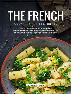cover image of The French Cookbook for Beginners