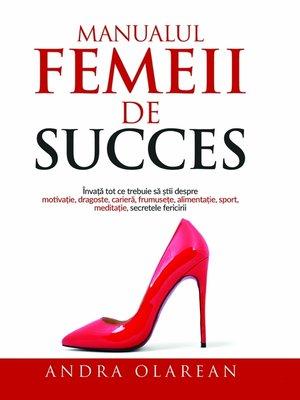 cover image of Manualul Femeii de Succes