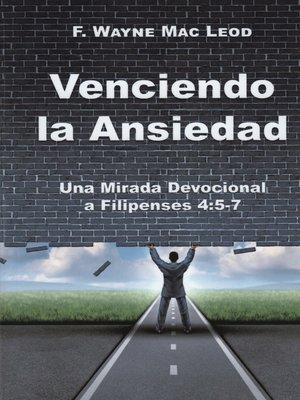 cover image of Venciendo la Ansiedad