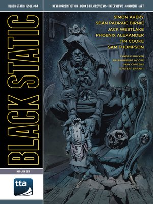 cover image of Black Static #64 (July-August 2018)