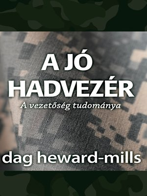 cover image of A jó hadvezér