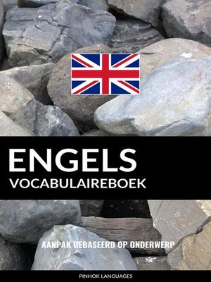 cover image of Engels vocabulaireboek