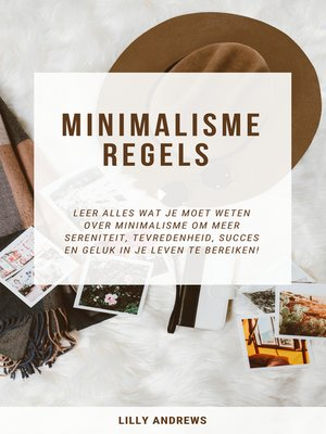 cover image of Minimalisme Regels