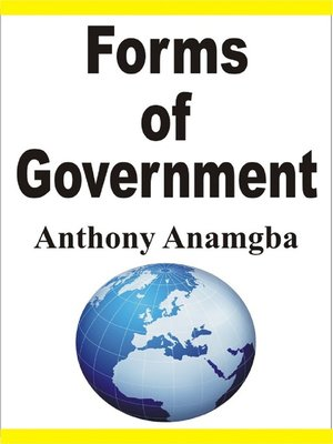 cover image of Forms of Government