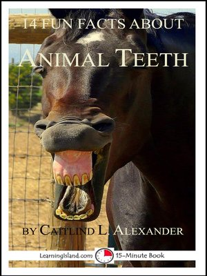 cover image of 14 Fun Facts About Animal Teeth