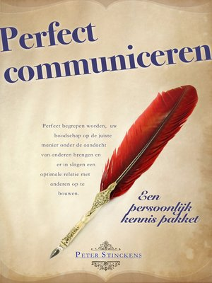 cover image of Perfect Communiceren