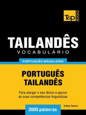 cover image of Vocabulário Português Brasileiro-Tailandês
