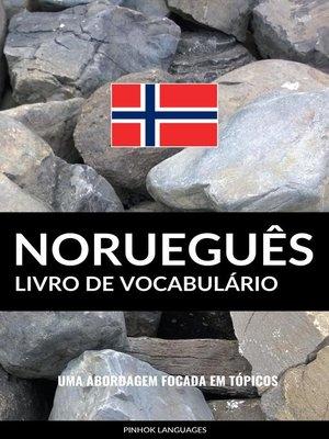 cover image of Livro de Vocabulário Norueguês