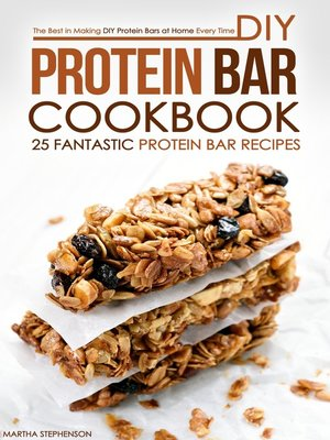 cover image of DIY Protein Bar Cookbook