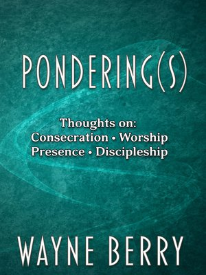 cover image of Ponderings(s)