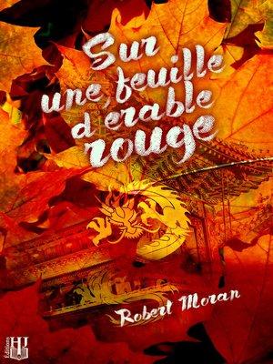 cover image of Sur une feuille d'érable rouge