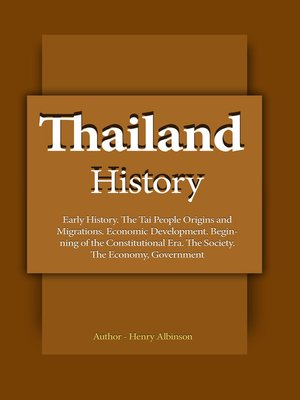 cover image of Thailand History