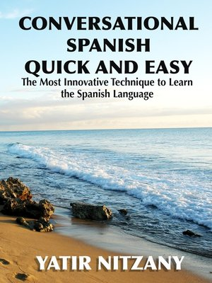 cover image of Conversational Spanish Quick and Easy