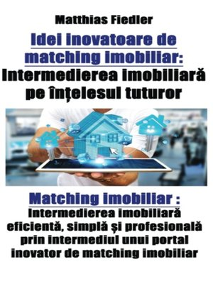cover image of Idei inovatoare de matching imobiliar